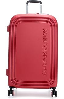 Mandarina Duck Logoduck+ Cabin Trolley Flame Scarlet Rouge SZV5413C