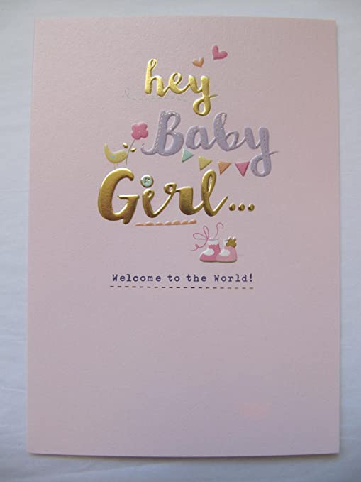 Tarjeta de felicitación para bebé recién recién nacido con ...