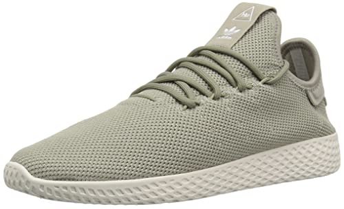 best sneakers e8cd9 18f32 Adidas OriginalsCQ2297 - PW Tennis HU J Unisex-Bambini, Marrone (Tech Beige