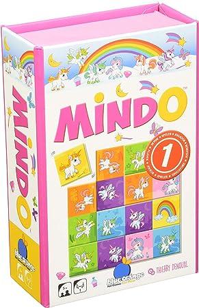Blue Orange- Mindo - Juego de Mesa de Unicornio, Multicolor: Amazon.es: Juguetes y juegos