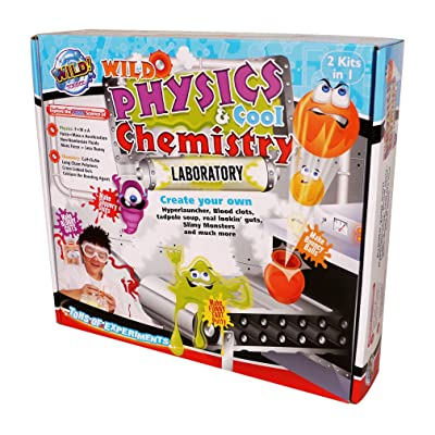 Wild Science Wild Physics and Cool Chemistry: Toys & Games