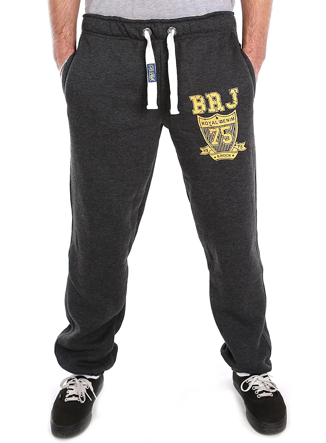 Black Rock Men's Relaxed Trousers Grey Charcoal