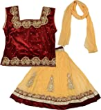 Kid's Stop Girl's Blended Lehenga Choli