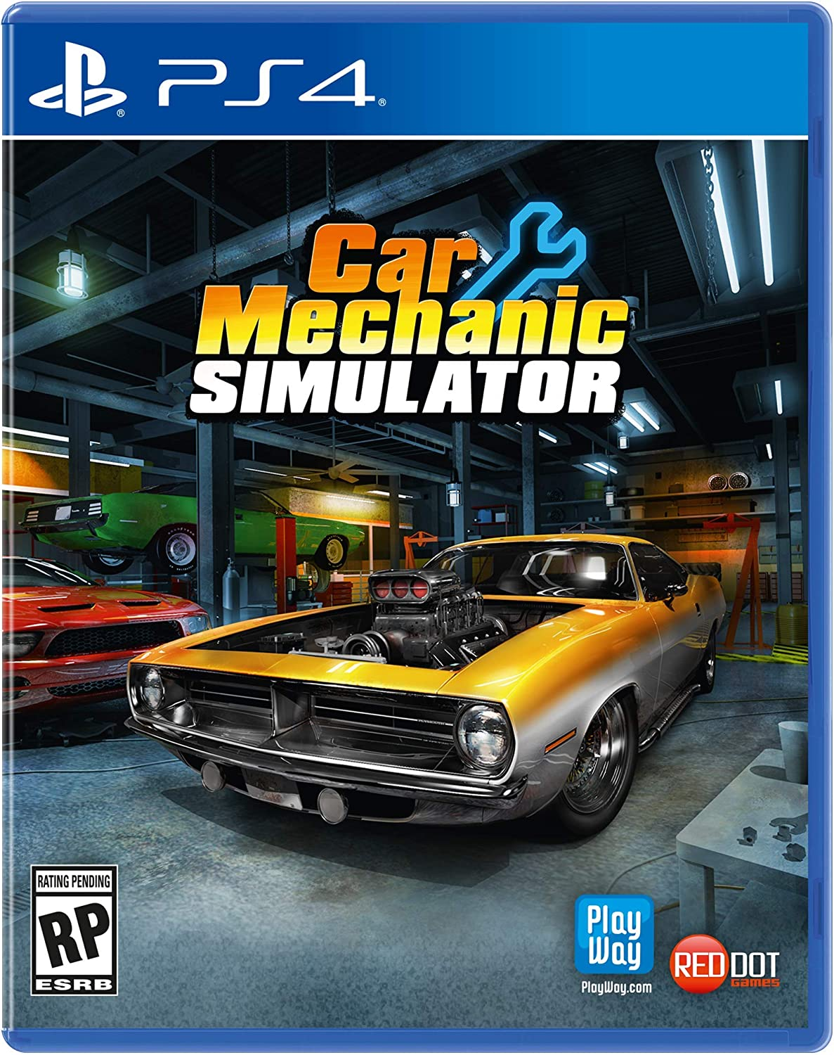 Amazon Com Car Mechanic Simulator Playstation 4 Maximum Games