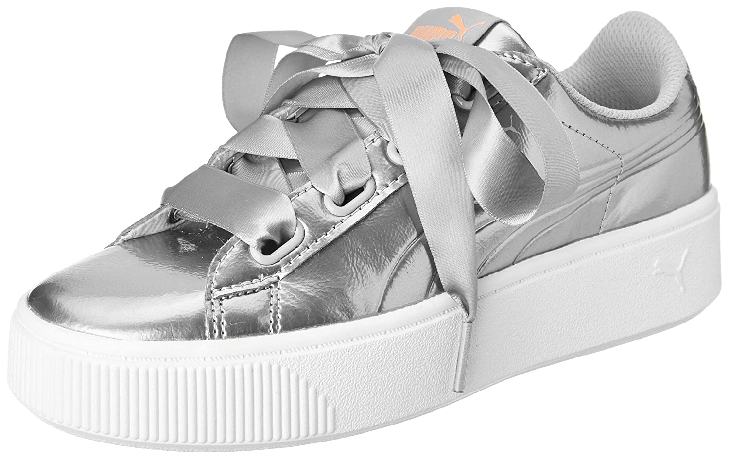 a63bfbfb744 Puma Women s Vikky Stacked Ribbon P Sneakers  Buy Online at Low Prices in  India - Amazon.in
