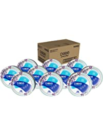 """Dixie Everyday Paper Plates, 8 1/2"""", 480 Count, 10 Packs of 48 Plates, Lunch or Light Dinner Size Printed Disposable Plates"""