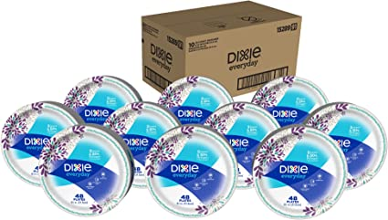 Dixie Everyday Paper Plates, 8 1/2