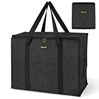 Baleine Storage Tote with Zippers & Carrying Handles