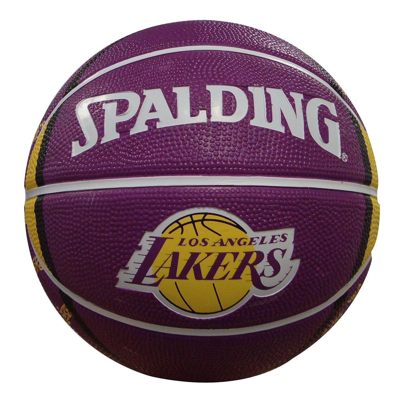 Amazon.com: Spalding los angeles lakers 7-inch Mini ...