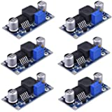 Pack of 6Pcs Boost Converter Module XL6009 DC to DC 3.0-30 V to 5-35 V Output Voltage Adjustable Step-up Circuit Board