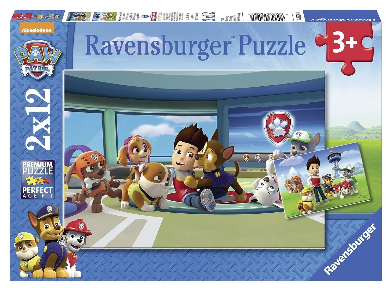 Paw Patrol - Puzzle, 2 x 12 Piezas (Ravensburger 7586) Puzzle Ravensburger