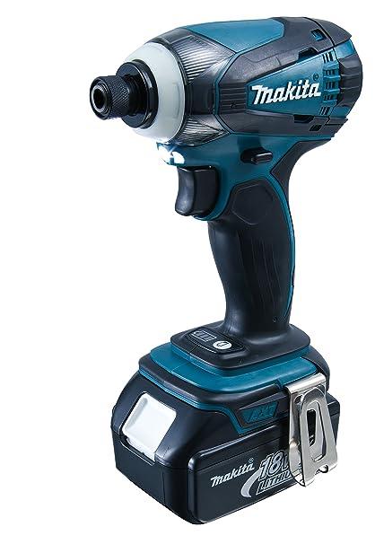 Makita DTD146RMJ Taladro atornillador, 18 V, Negro, Azul: Amazon.es ...