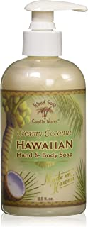 product image for Island Soap & Candle Works Hawaiian Hand and Body Soap, Coconut