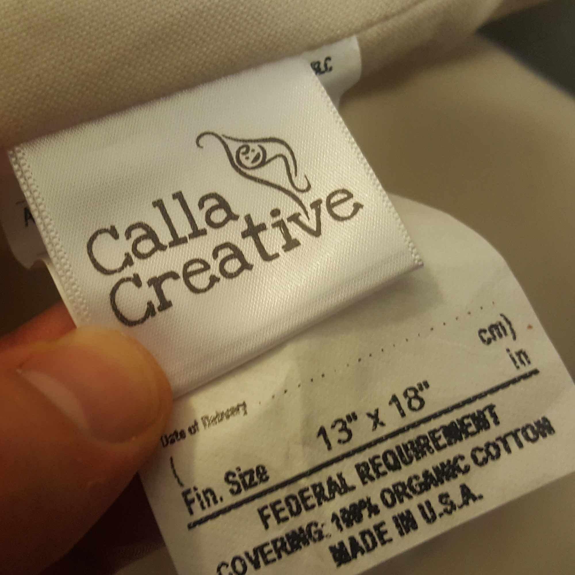 Calla Toddler Pillow Soft Organic Cotton of size 13'' x 18'' x 3.5'' by Calla Creative (Image #3)