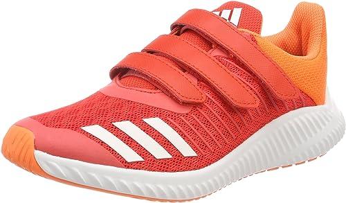 ADIDAS Baskets Fortarun AC K Enfant Orange et blanc