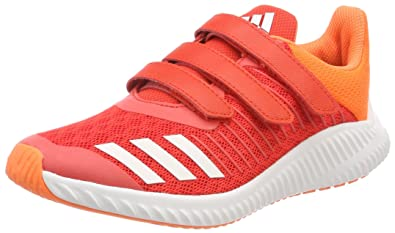 huge selection of edb3e 9b982 adidas Unisex-Kinder Fortarun Cf K Gymnastikschuhe Mehrfarbig Red S18 ftwr  White hi