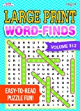 Large Print Word-Finds Puzzle Book-Word Search Volume 312