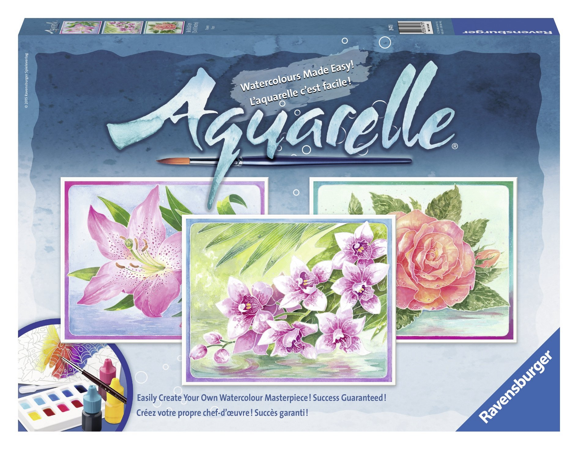 Ravensburger Aquarelle Flowers Arts & Crafts Kit
