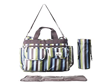 Amazon.com: Deluxe – Pañal Bolsa para elegante mamás, con ...