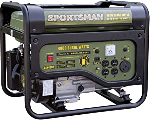Sportsman GEN4000, 3500 Running watt Gas Powered Portable Generator