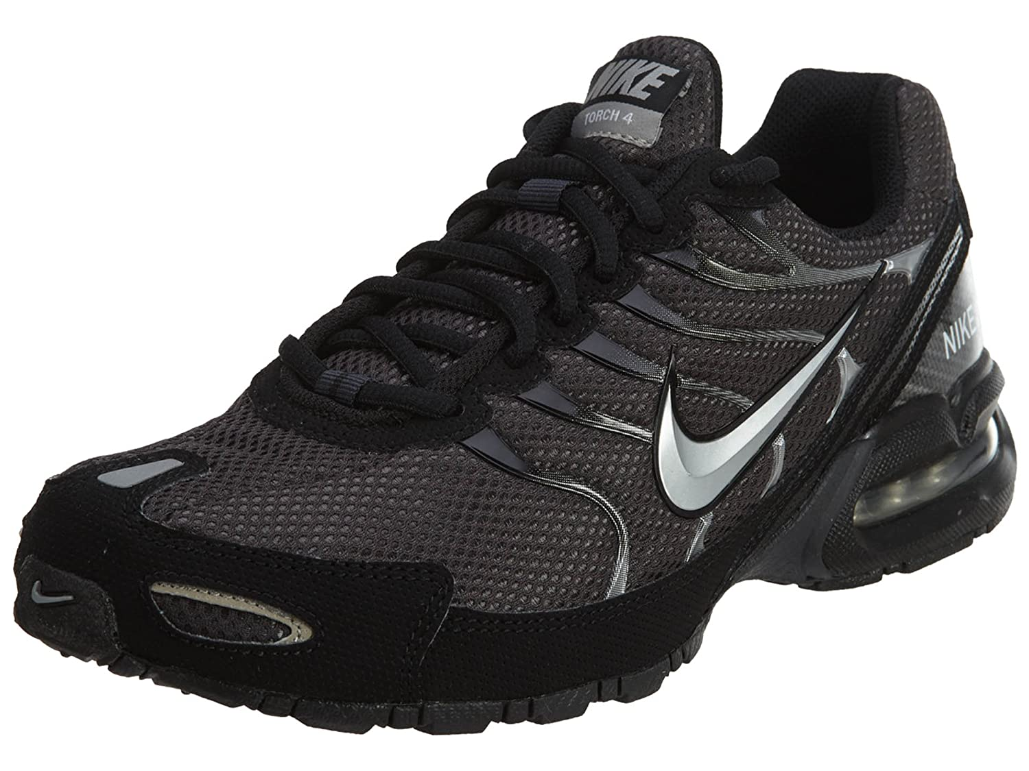 64142e6439 Amazon.com | Nike Mens Air Max Torch 4 Running Shoe #343846-002,  Anthracite/Metallic Silver-black, | Road Running