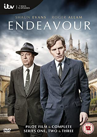 Image result for endeavour dvd amazon