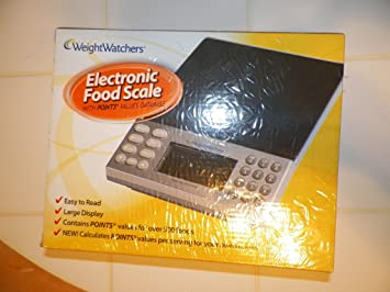 Amazon com Weight Watchers Electronic Food Scale w Points Values