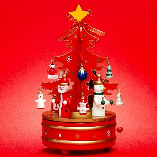 Sikora SD03 Caja de Música de Navidad de Madera - Noche de Paz ...