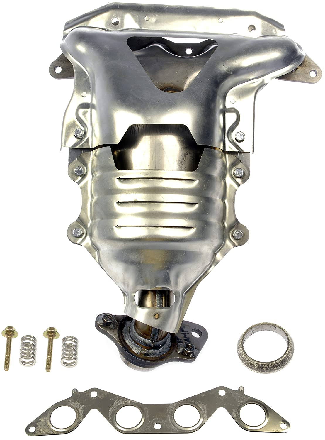 2002 Honda Civic Exhaust Diagram Wiring 1997 Engine Mounts Amazon Com Dorman 673 608 Manifold With Integrated Cr V System