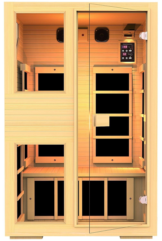 JNH Lifestyle 2 Person NO EMF Infrared Sauna