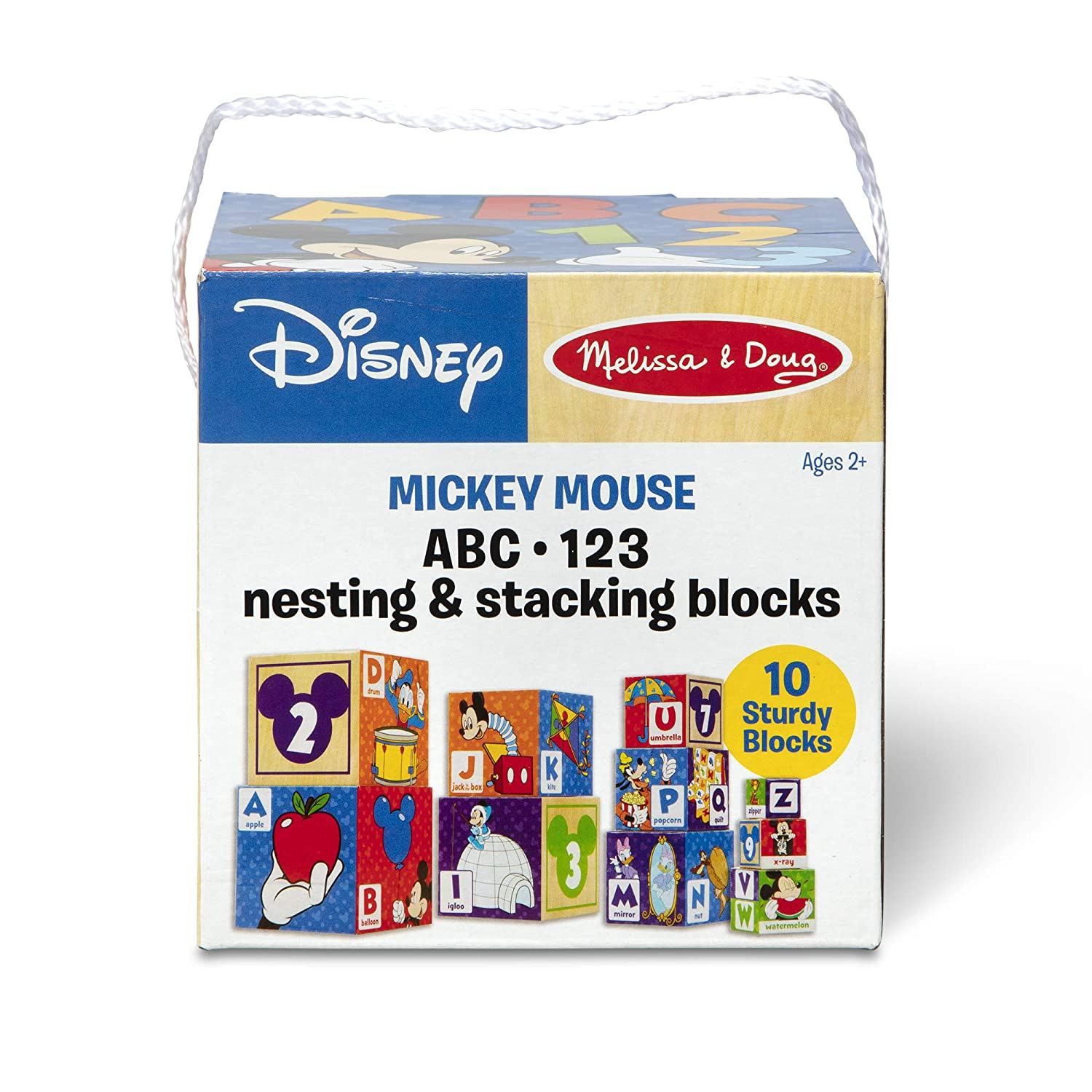 Melissa Doug Mickey Mouse Friends Nesting Stacking