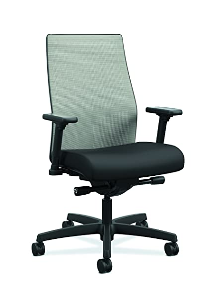 Charmant HON Ignition 2.0 Mid Back   Fog Mesh Computer Chair For Office Desk, Black