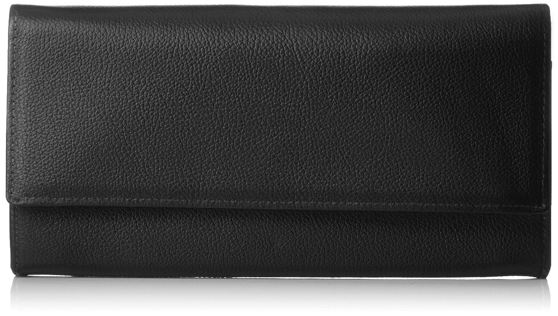 [ハマノ] 濱野皮革工藝 グレース ロングウォレット ギャルソンタイプ  09-67602 B07B4FJQ93 ブラック ブラック