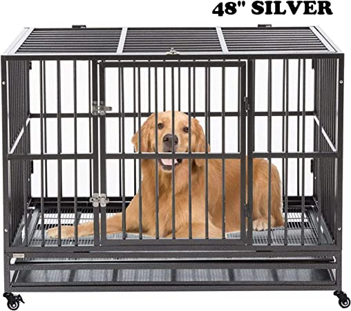 Dog Cage Crate Kennel Heavy Duty