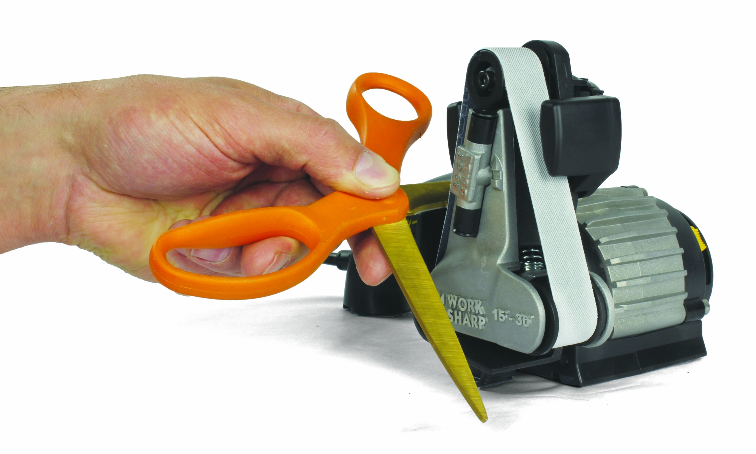 Work Sharp Ken Onion Edition, Fast, Repeatable, & Precision Sharpening from 15° to 30°, Premium Flexible Abrasive Belts, Variable Speed Motor, & Multi-Positioning Sharpening Module by Work Sharp