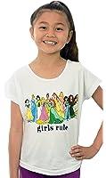 Disney Princess Girls Rule Tween Kids T-shirt