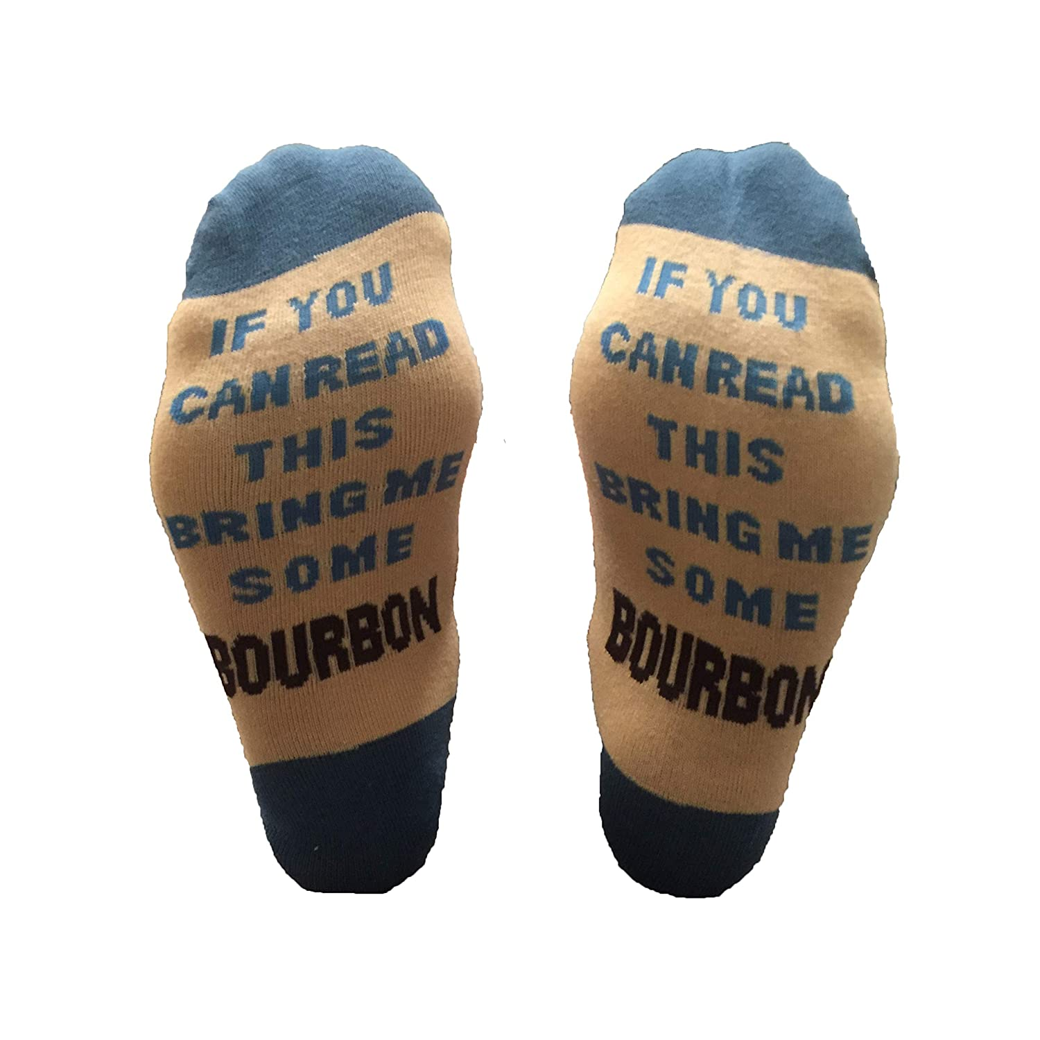 If You Can Read This Bring Me Some Bourbon Mens Socks