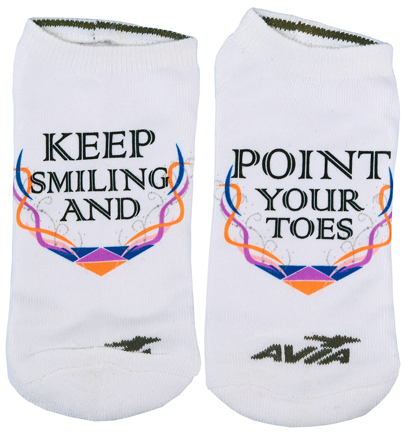 Snowflake Designs Gymnastics Printed Socks Many Styles Available 02socksfiery