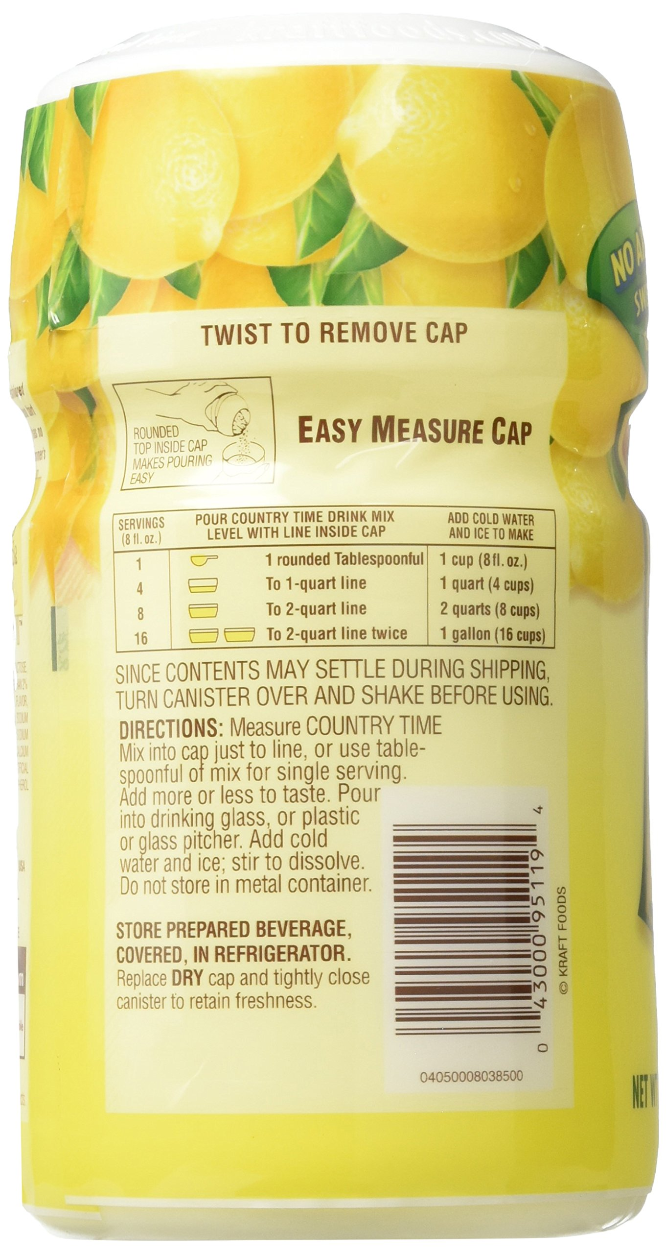 Country Time Lemonade Directions