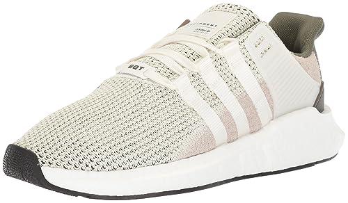 adidas Originals Men's EQT Support 9317 Running Shoe, White, 5 M US