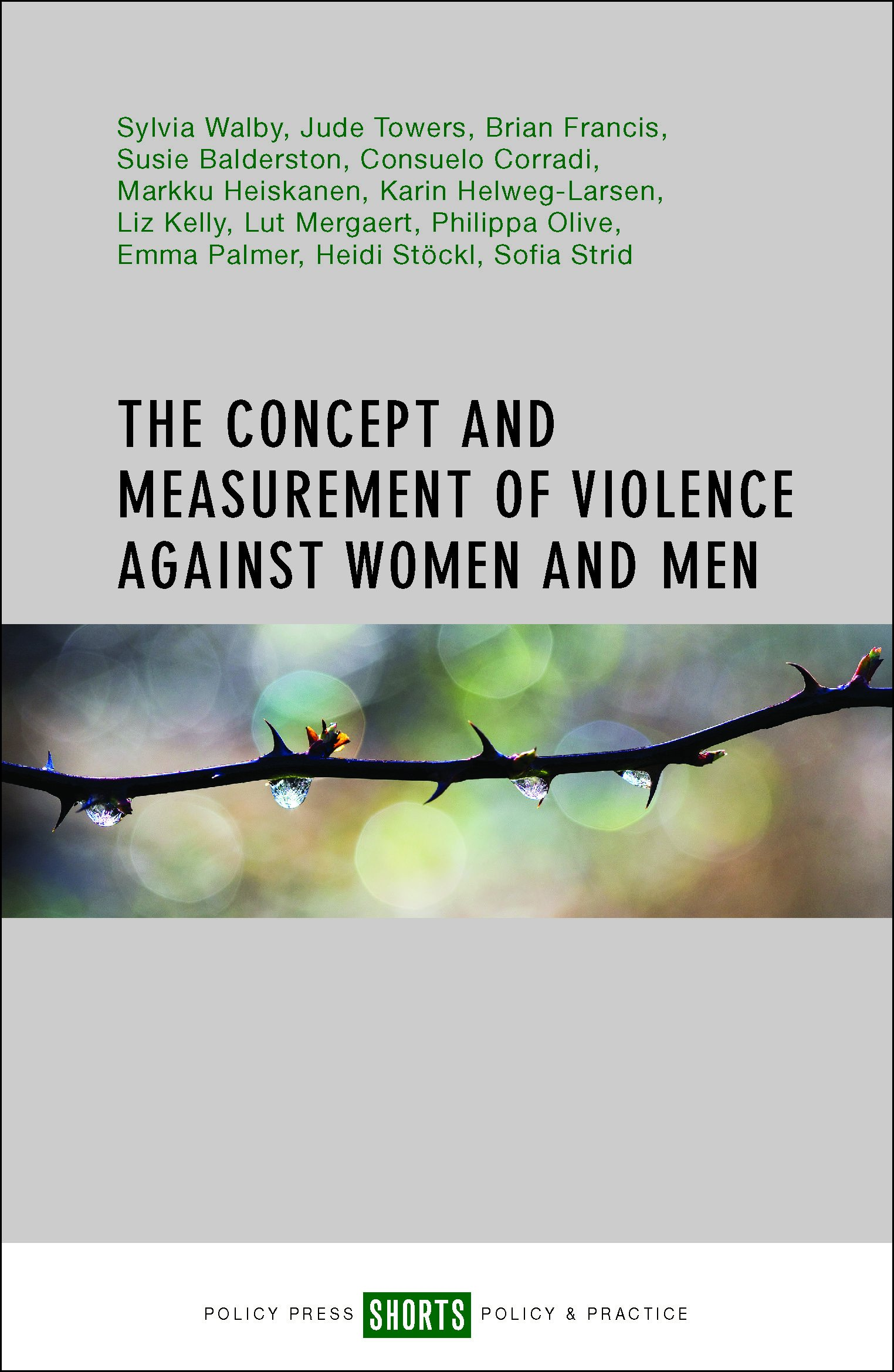 The Concept and Measurement of Violence against Women and Men PDF