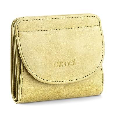 867321eca070 Alimei 二つ折り財布レディース 本革財布 ボックス型 メンズ 小銭入れ 大容量 コイン