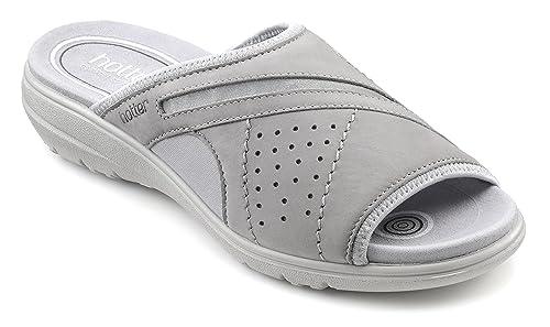 e7adb37cb9 Hotter Womens Clara Sandal Pebble Grey 9 UK: Amazon.co.uk: Shoes & Bags
