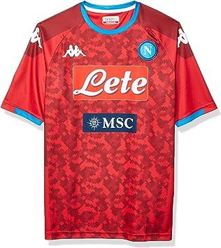 SSC NAPOLI Réplica de Camiseta de Primera equipación de Portero ...