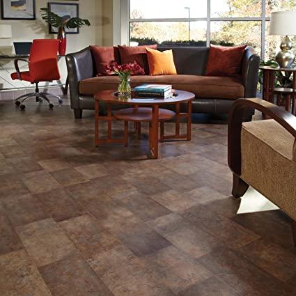Charming Traditional Living® Aged Steel Premium Laminate Flooring