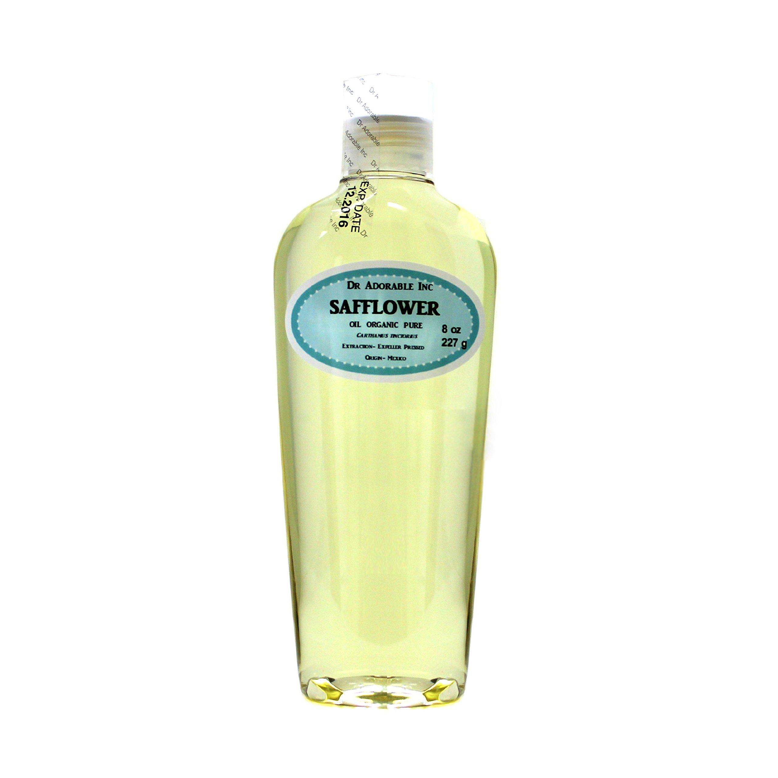 Safflower Oil High Oleic 100% Pure Organic 8 Oz