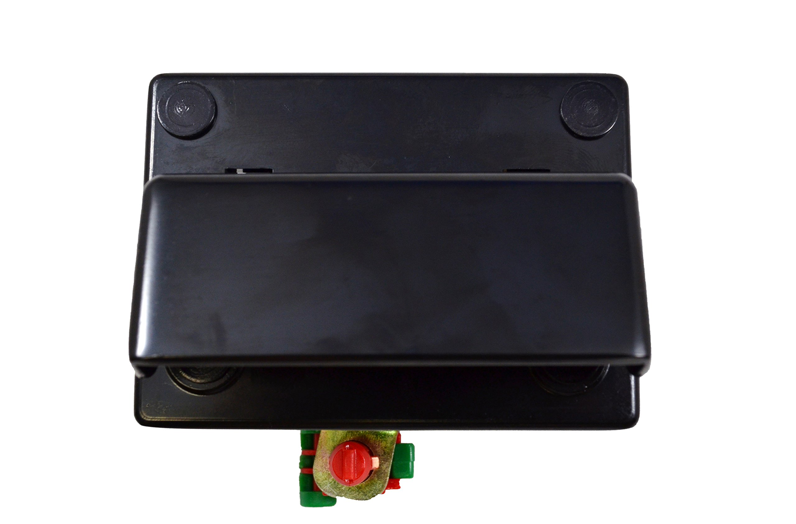 PT Auto Warehouse GM-3903S-TG - Tailgate Back Door Handle (Driver Side Back Door) - without Liftgate, Rear Door Latch Control Release, Smooth Black