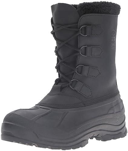 Kamik Men's Alborg Snow Boot, Black, ...