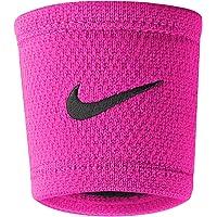 Nike Swoosh Polsbandjes (Vivid Roze/Zwarte Borstkanker Bewustzijn)