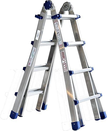Marchetti 20029 Equipe 44 escalera telescópica 4,10 m: Amazon.es: Bricolaje y herramientas